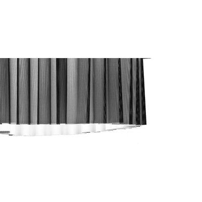 Axo Light Skirt 4 Light Flush Mount with Black Netting (Incandescent)