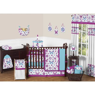 Spring Garden Crib Bedding Collection
