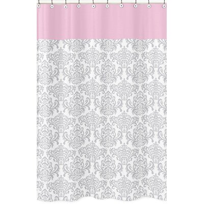 Pink color bathroom accessories wayfair for Pink and grey bathroom accessories