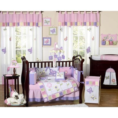 Butterfly Crib Bedding Collection