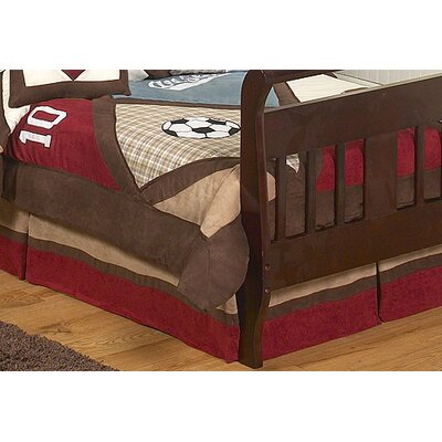 Sweet Jojo Designs All Star Sports Collection Toddler Bed Skirt