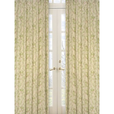 Sweet Jojo Designs Annabel Cotton Curtain Panel Pair