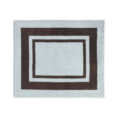 Sweet Jojo Designs Hotel Blue and Brown Collection Floor Rug