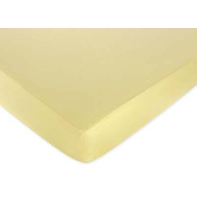 Sweet Jojo Designs Construction Collection Fitted Crib Sheet  - Yellow