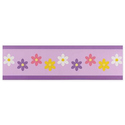Sweet Jojo Designs Daisies Wallpaper Border