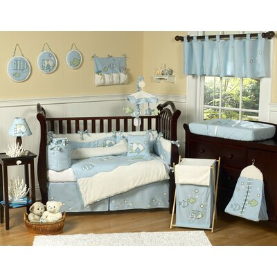 Sweet Jojo Designs Go Fish Crib Bedding Collection