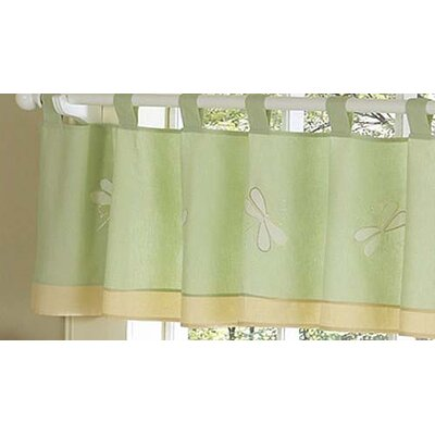 Sweet Jojo Designs Dragonfly Dreams Cotton Curtain Valance