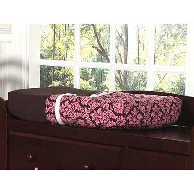 Sweet Jojo Designs Pink and Brown Bella  Changing Pad Cover