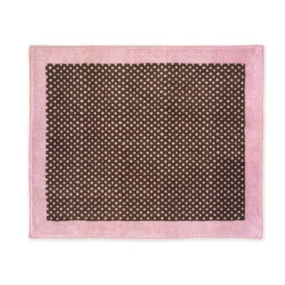 Sweet Jojo Designs Pink and Brown Toile Collection Floor Rug
