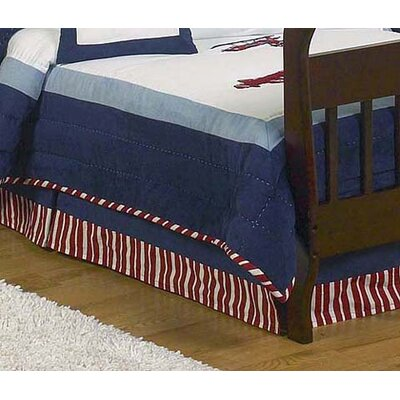 Vintage Aviator Collection Toddler Bed Skirt