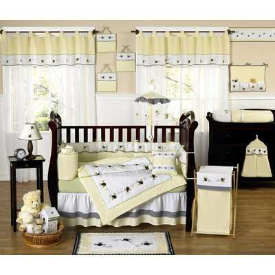 Sweet Jojo Designs Bumble Bee 9 Piece Crib Bedding Collection