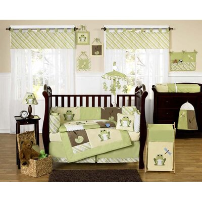 Sweet Jojo Designs Leap Frog Crib Bedding Collection