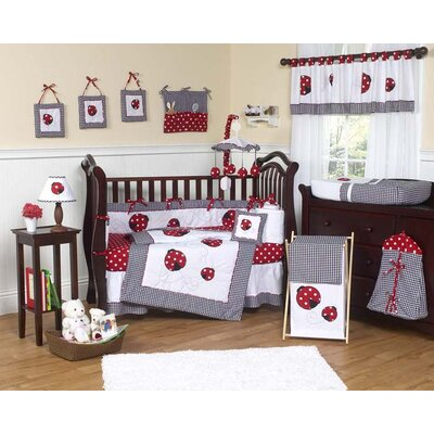 Little Ladybug Polka Dot Crib Bedding Collection