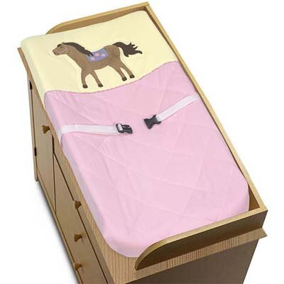 Sweet Jojo Designs Pony Collection Changing Pad Cover