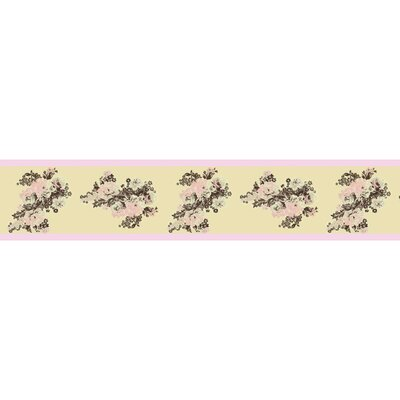 Sweet Jojo Designs Abby Rose Collection Wall Paper Border