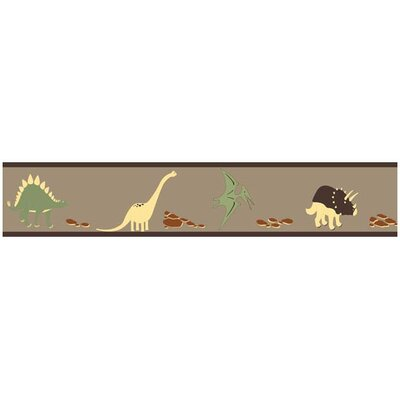 Dinosaur Land Collection Wall Paper Border