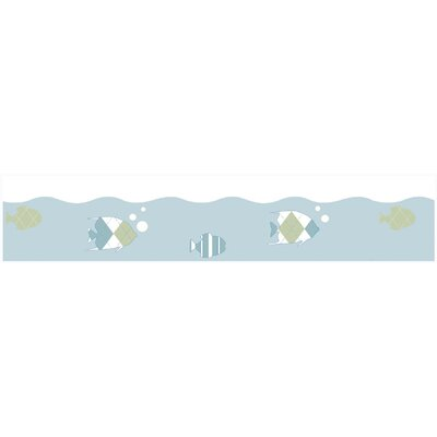 Sweet Jojo Designs Go Fish Collection Wall Paper Border