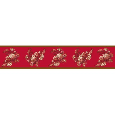 Sweet Jojo Designs Oriental Garden Collection Wall Paper Border