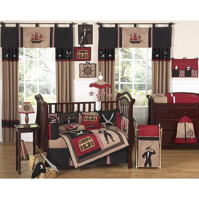 Sweet Jojo Designs Treasure Cove Pirate Crib Bedding Collection