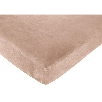 Sweet Jojo Designs Camel Fitted Crib Sheet