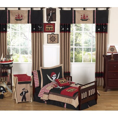 Pirate Treasure Cove Toddler Bedding Collection