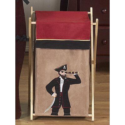 Sweet Jojo Designs Pirate Treasure Cove Laundry Hamper