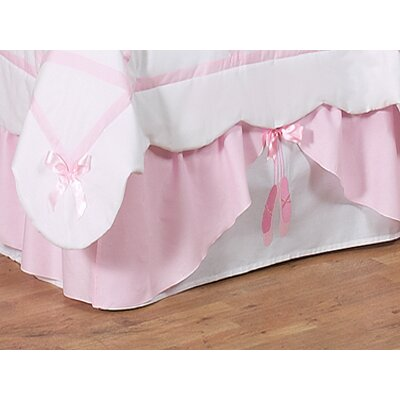 Sweet Jojo Designs Ballerina Collection Toddler Bed Skirt