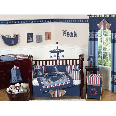 Nautical Nights Crib Bedding Collection