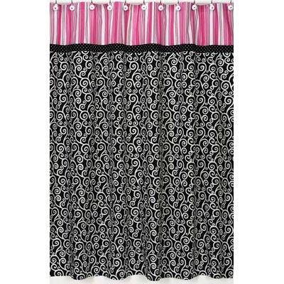 Sweet Jojo Designs Madison Cotton Shower Curtain