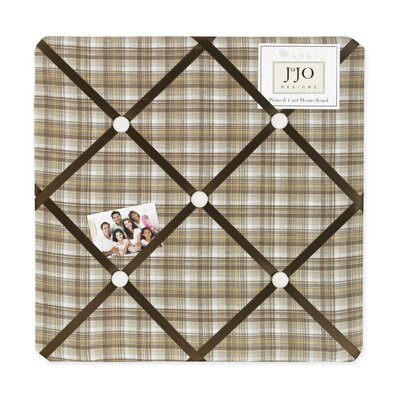 Sweet Jojo Designs Teddy Bear Chocolate Collection Memo Board