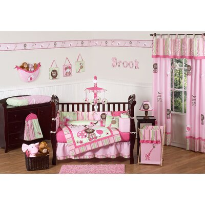 Jungle Friends Crib Bedding Collection