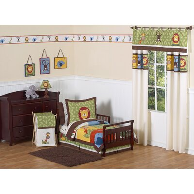 Sweet Jojo Designs Jungle Time Collection 5pc Toddler Bedding Set