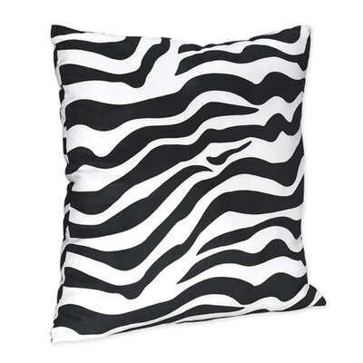 Sweet Jojo Designs Zebra Decorative Pillow
