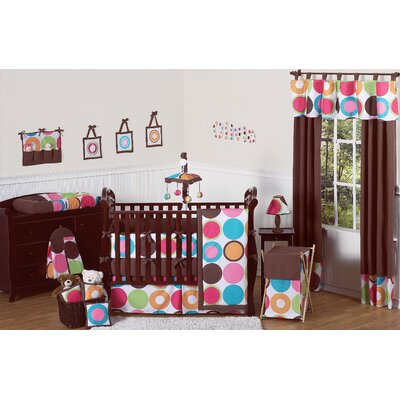 Deco Dot 9 Piece Crib Bedding Collection