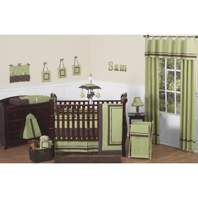 Hotel 9 Piece Crib Bedding Set