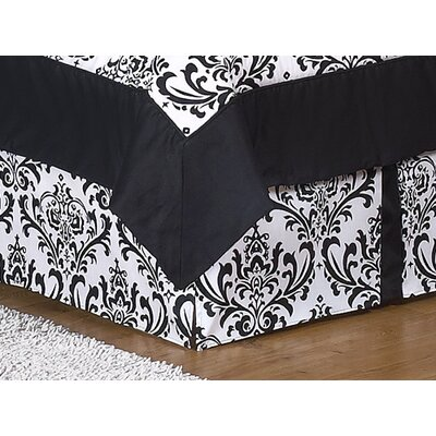 Sweet Jojo Designs Isabella Hot Pink, Black and White Comforter Set