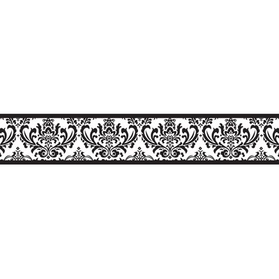 Sweet Jojo Designs Isabella Black and White Collection Wall Paper Border