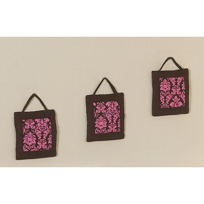 Sweet Jojo Designs Bella Pink Collection Wall Hangings