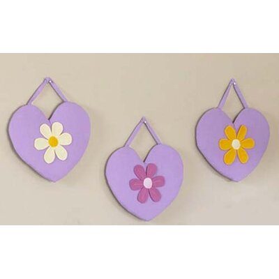 Sweet Jojo Designs Daisies Collection Wall Hangings