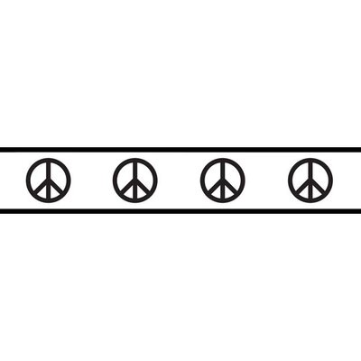 Peace Collection Wall Paper Border