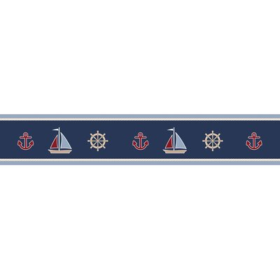 Nautical Nights Collection Wall Paper Border
