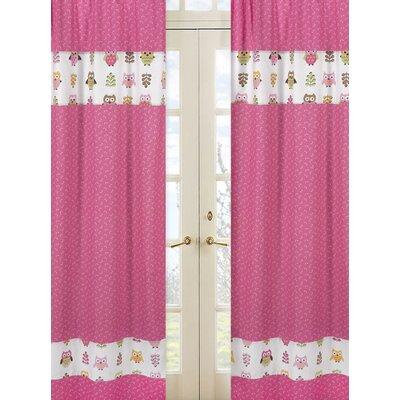 Sweet Jojo Designs Happy Owl Window Treatment Collection