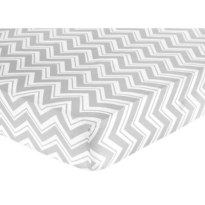 Sweet Jojo Designs Zig Zag Fitted Crib Sheet