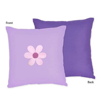 Sweet Jojo Designs Daisies Decorative Pillow