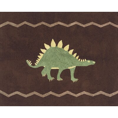 Sweet Jojo Designs Dinosaur Land Collection Floor Rug