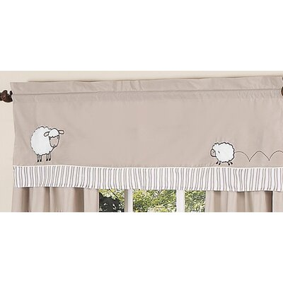 Sweet Jojo Designs Lamb Cotton Curtain Valance