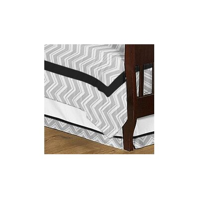Sweet Jojo Designs Zig Zag Todder Bed Skirt