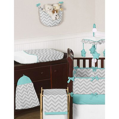 Zig zag crib bedding collection wayfair for Zig zag bedroom ideas