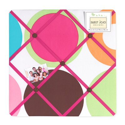 Sweet Jojo Designs Deco Dot Collection Memo Board
