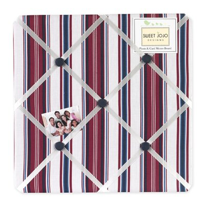 Sweet Jojo Designs Nautical Nights Collection Memo Board